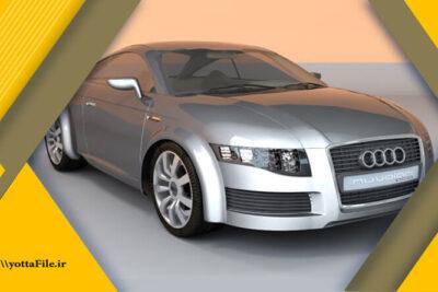 دانلود مدل های آماده سه بعدی مدل ماشین | یوتا فایل مرجع فایل های سه بعدی