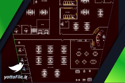 دانلود فایل پلان معماری ساختمان اداری | پروژه معماری ساختمان اداری طراحی شده با نرم افزار اتوکد با فرمت DWG | یوتا فایل مرجع فروش فایل در ایران