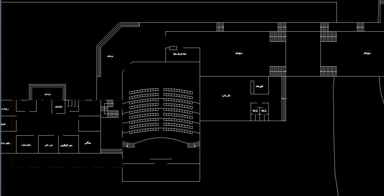 دانلو فایل پلان نمایشگاه بزرگ با جزئیات | پروژه طراحی پلان نمایشگاه طراحی شده با نرم افزار اتوکد با فرمت DWG | یوتا فایل مرجع خرید و فروش فایل در ایران